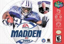 Madden NFL 2001 (USA) Box Scan